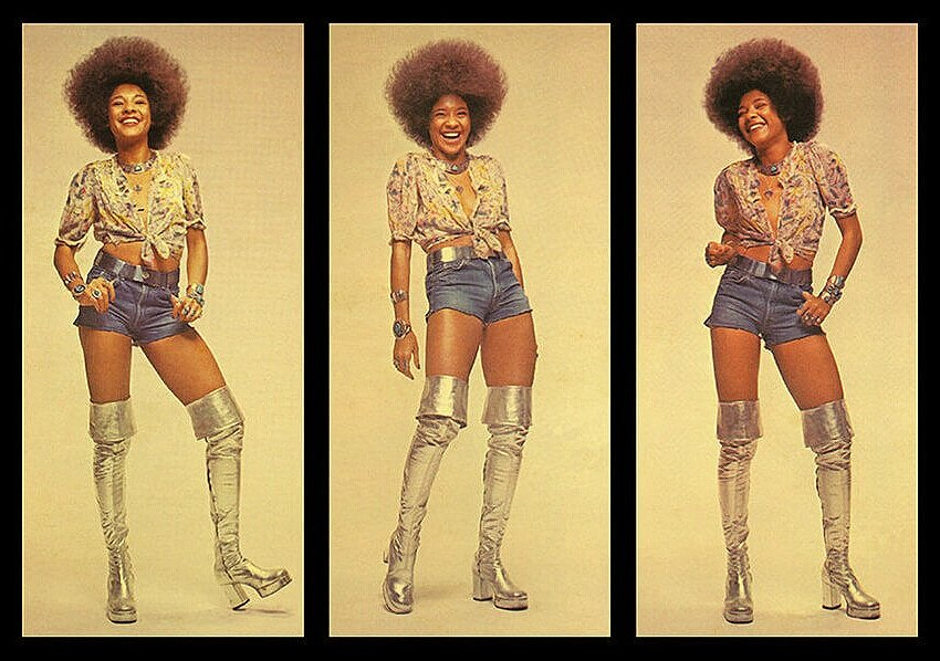 Betty Davis has got the boots