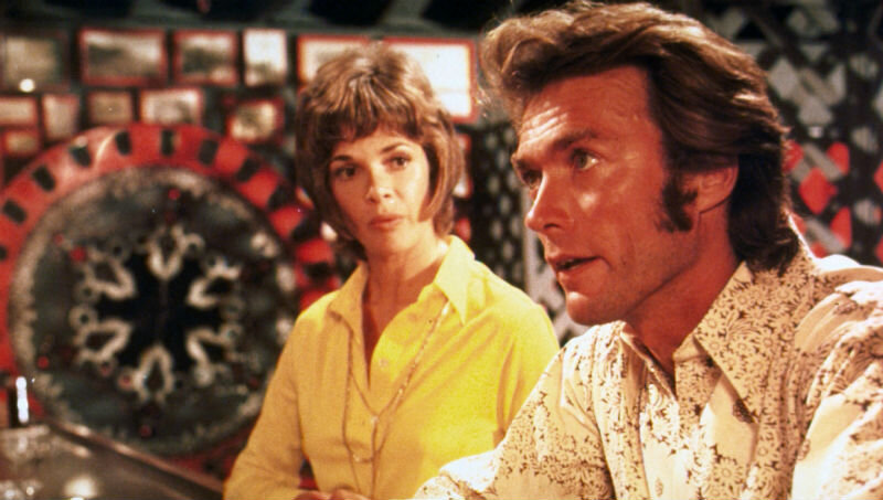 Play Misty For Me? Be careful what records you choose … Clint Eastwood and Jessica Walter in 1971