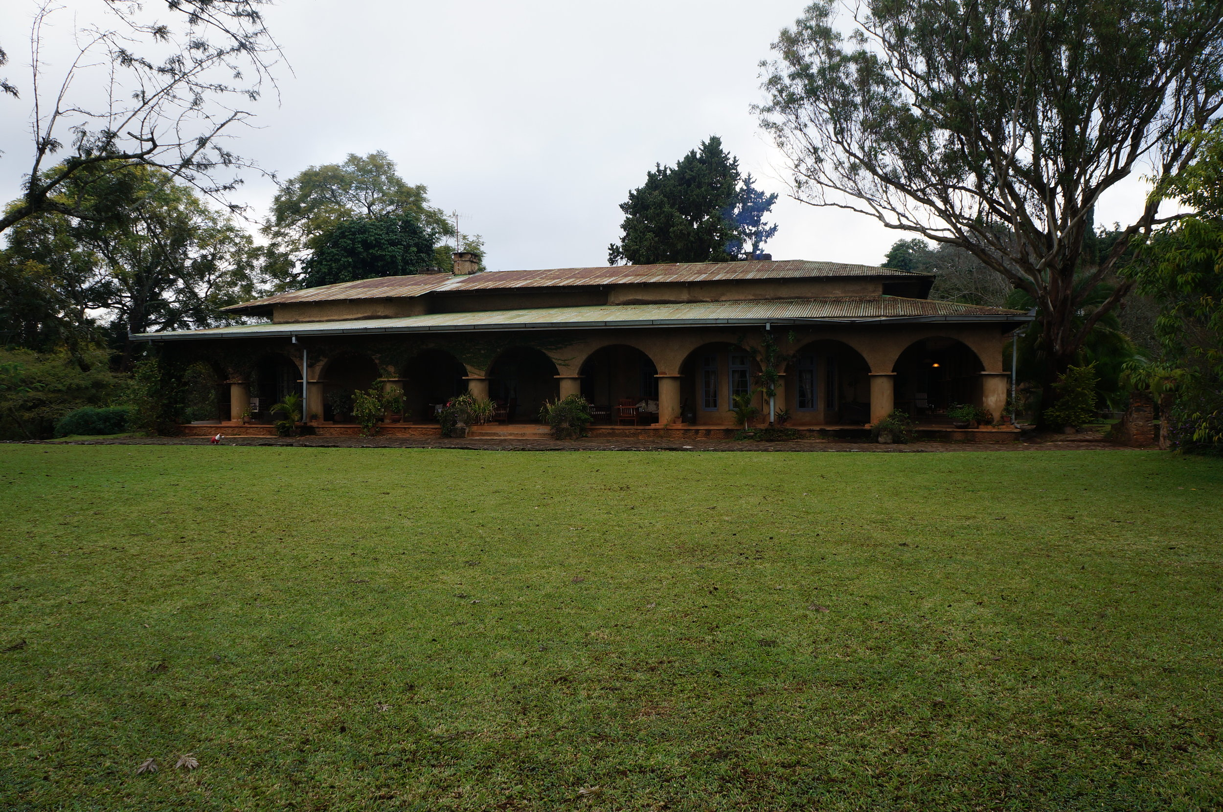 Huntington House is the old residence on Satemwa Tea Estate. It is now operated as a lodge.
