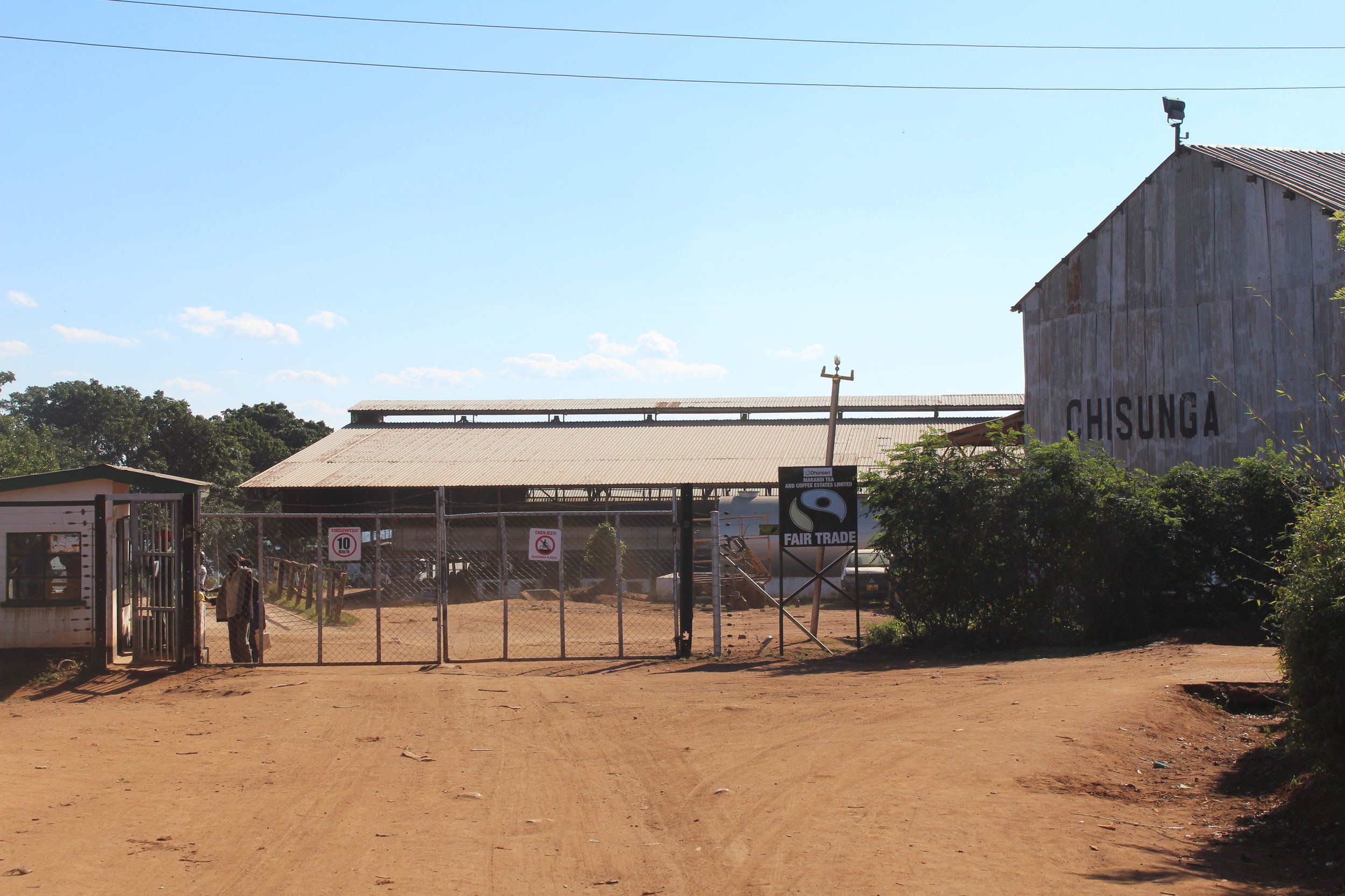 Industrial Factory Setting in Rural Malawi