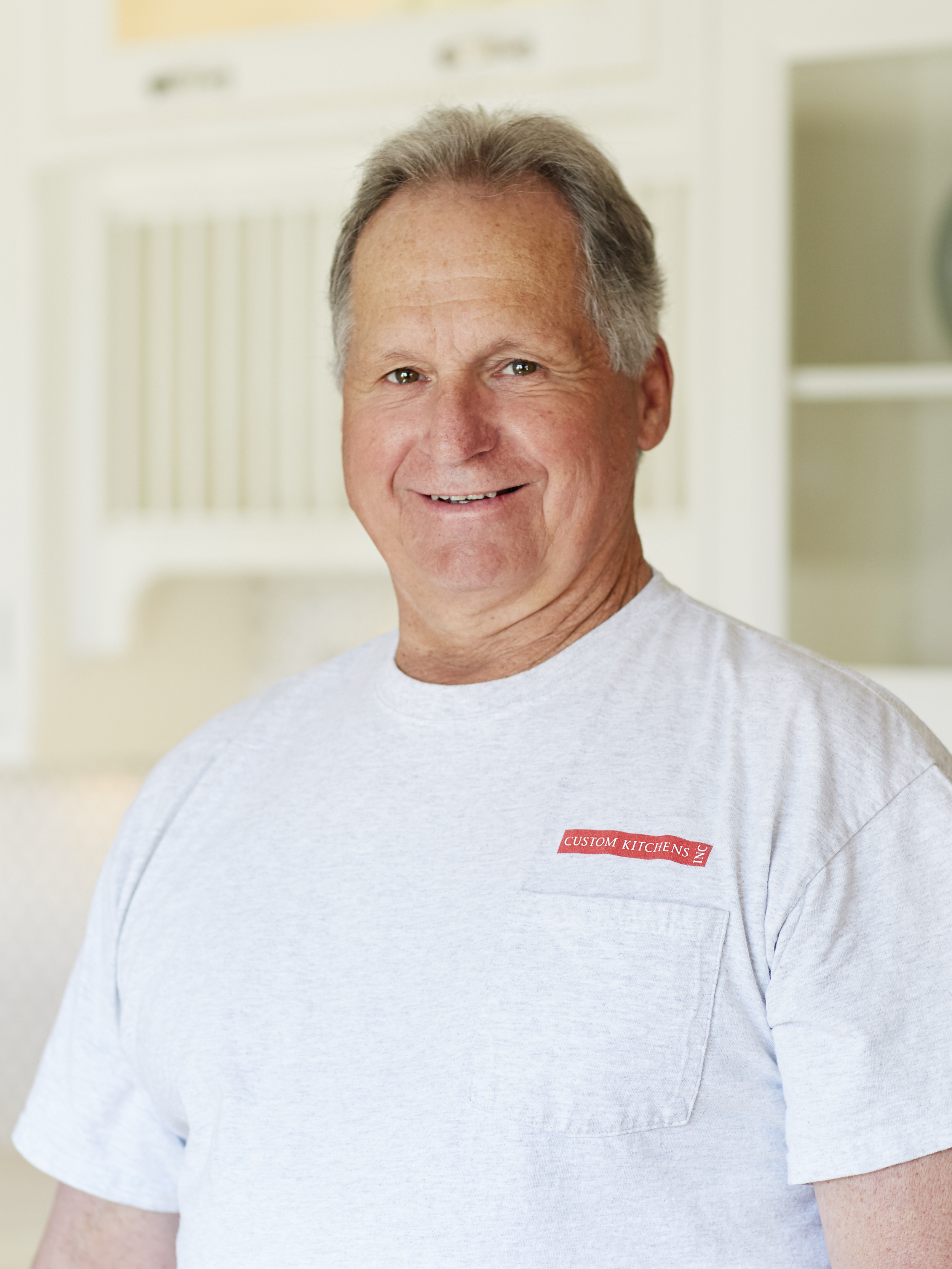 Bobby Hollins  Cabinet Installer  Bobby's history with cabinets goes back 50 years, but he's been with us for 15. He enjoys making a puzzle work, and how each job is different. When he's not at work he enjoys dancing and sharing his work ethic with his kids.