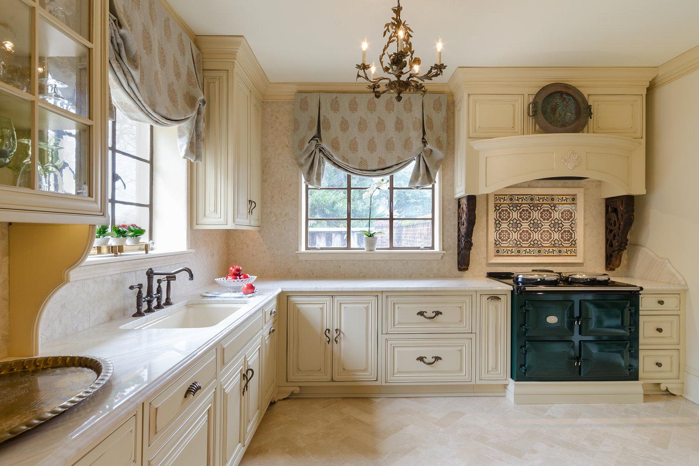 French Country Kitchen — Custom Kitchens