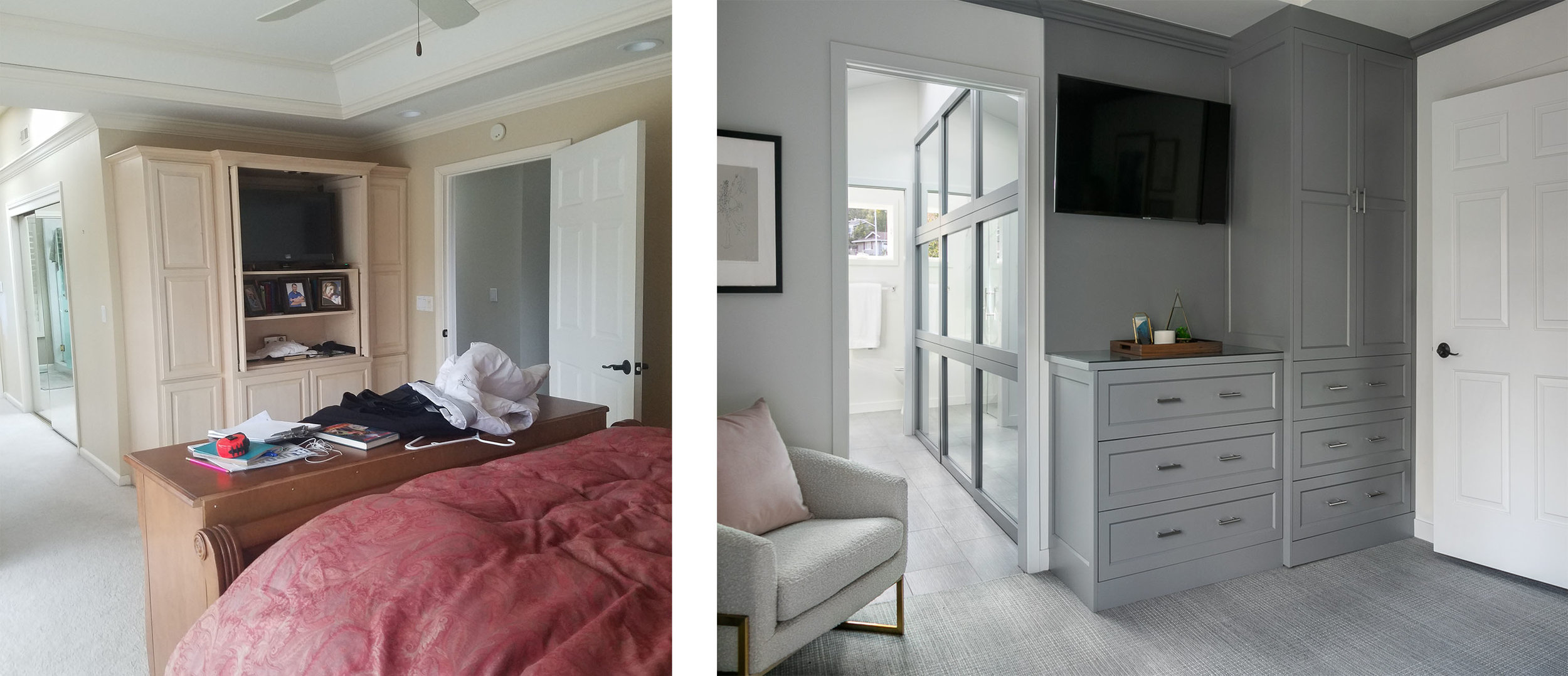 Master Suite Before & After