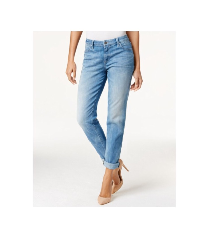 The Classic  Calvin Klein Jeans Boyfriend Strasbourg Blue Wash Jeans - $55 (macys.com)
