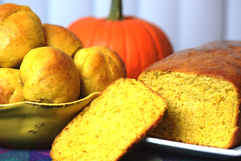Pumpkin Yeast Bread.JPG