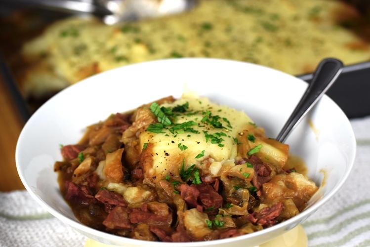 Corned Beef Cabbage Shepherds Pie Feast Of Eden Cooks