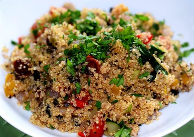 Quinoa & Italian Vegetable Bowl