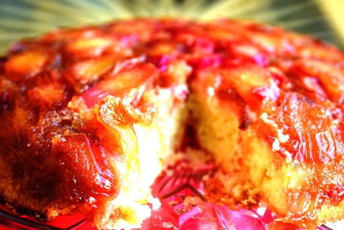 Rhubarb Upside-Down Cake 1.JPG