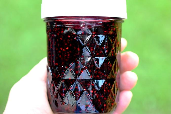 Wild Black Raspberry (Black Caps) Jam