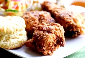 Crispy Country Fried Chicken