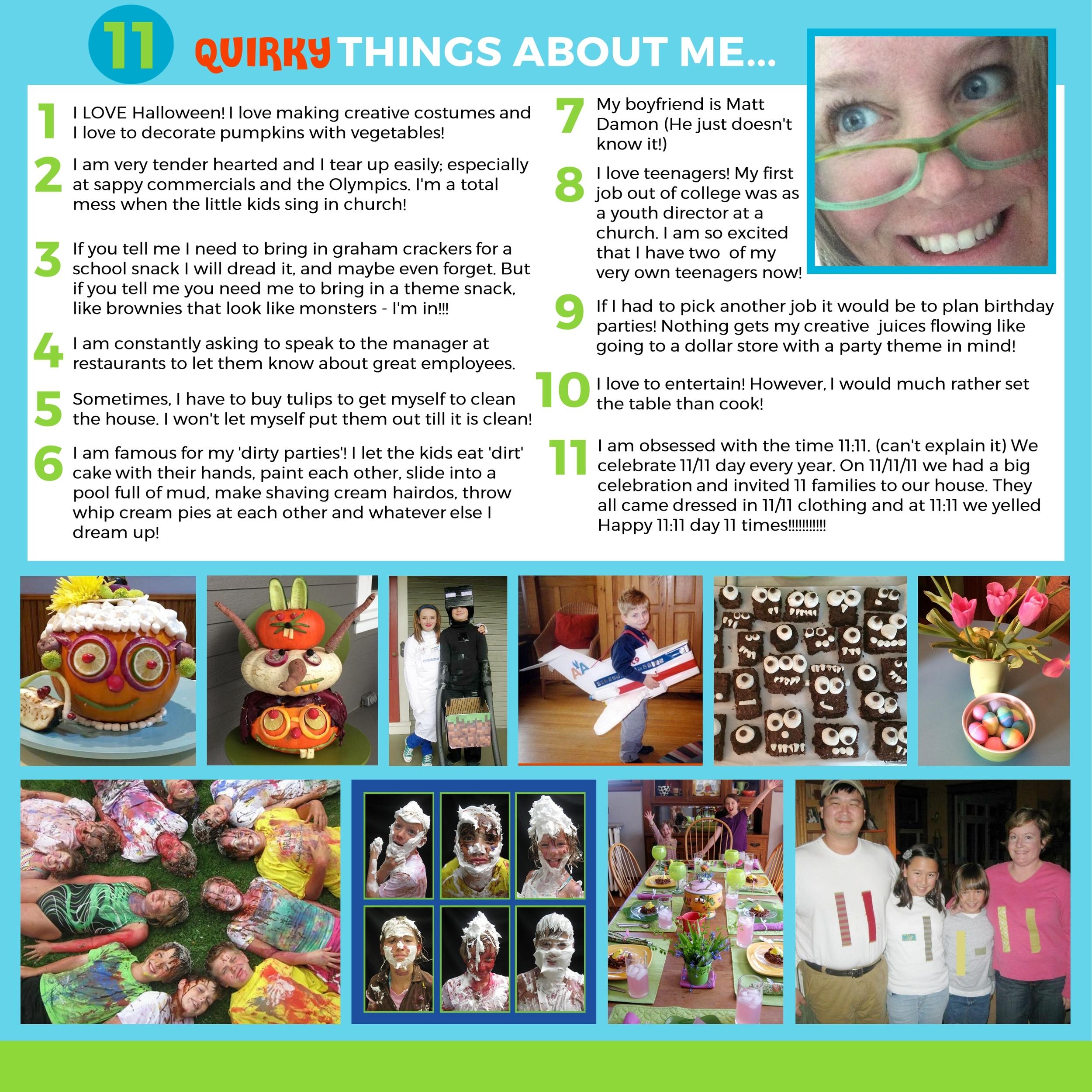 My Story Adoption Profile Design