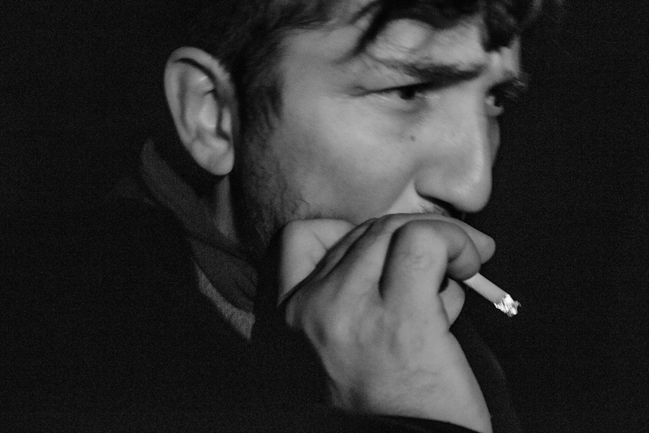 diego needs a cigarette after the scenario