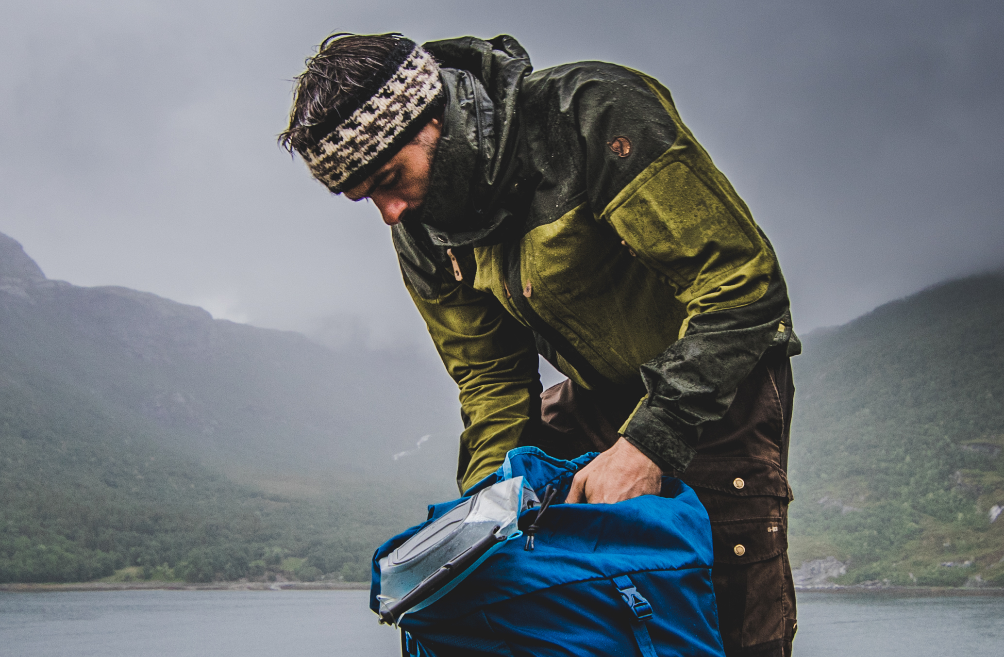 conveying wet during villmark expedition