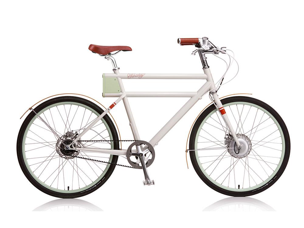 Faraday Porter  - A classy belt-drive e-bike that looks amazing.