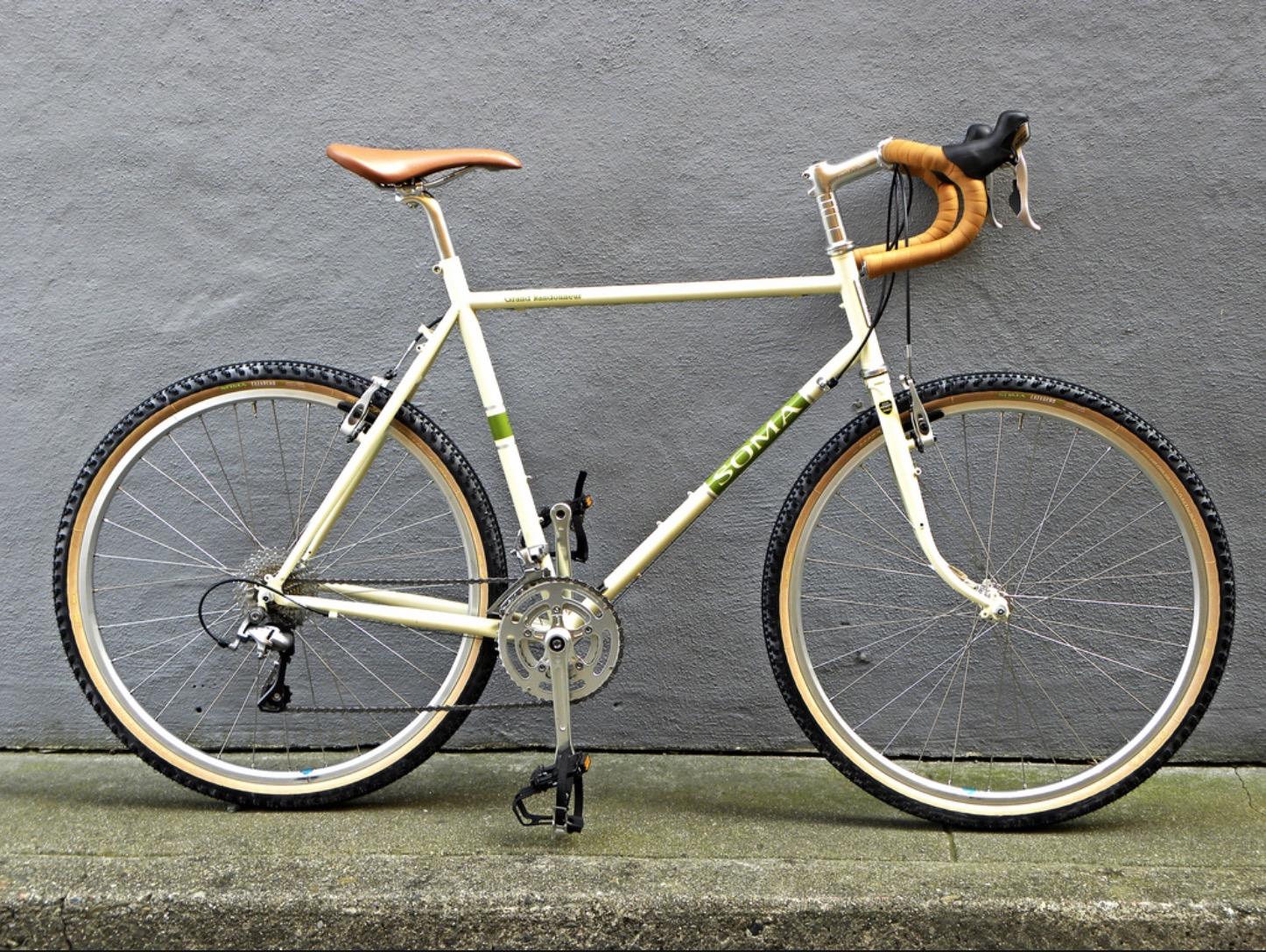 Soma Grand Randoneur  - A tour-ready city bike that's front rack ready.