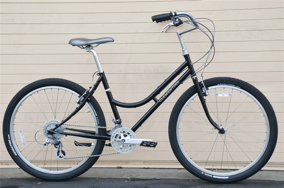 Rivendell Clem Smith Jr. Low  - A commuter/shopping/trails bike.