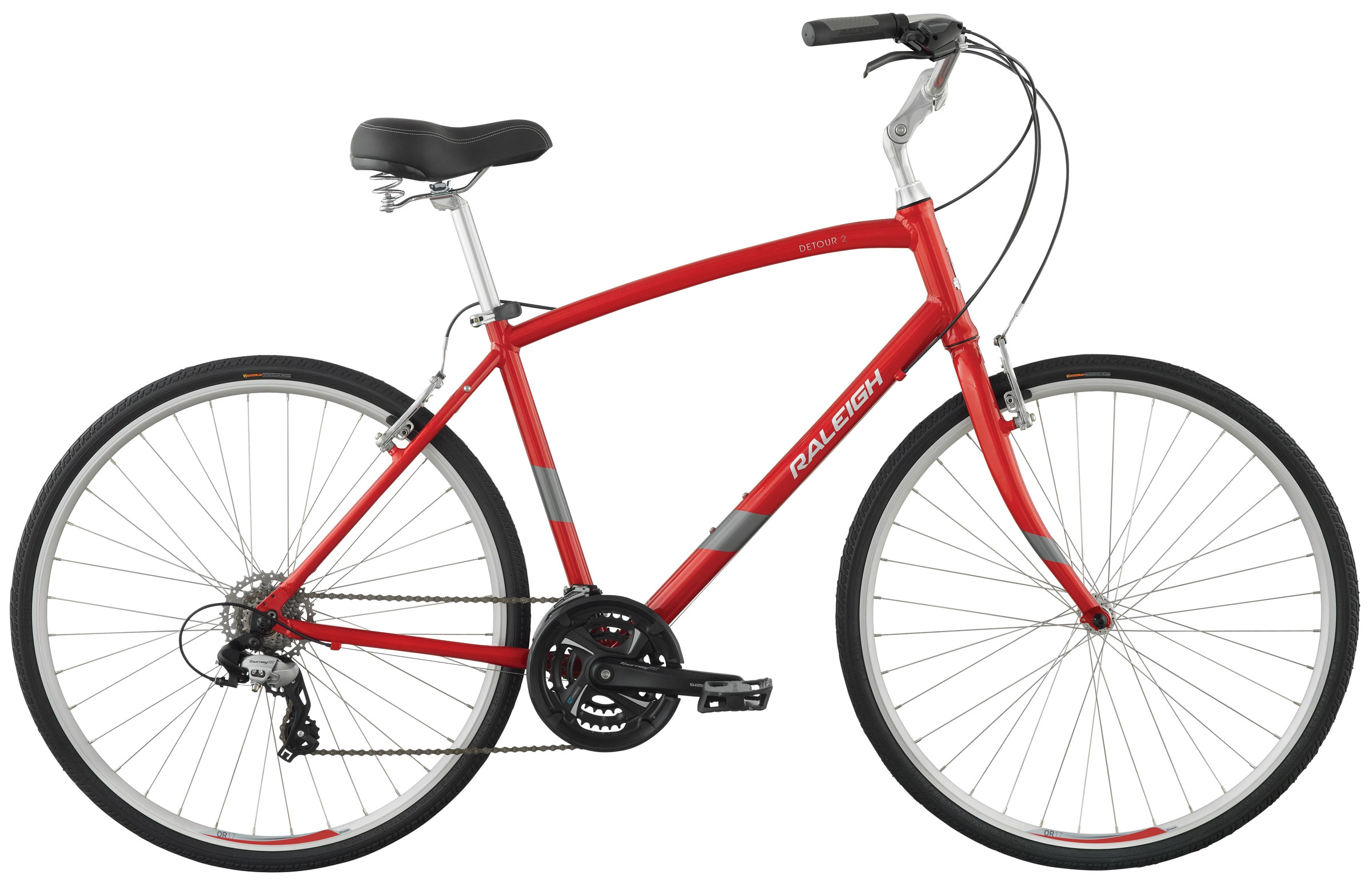 Raleigh Detour 2  - A true 'hybrid' bicycle also available as a step-through