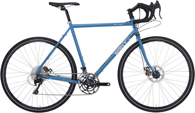 Surly Disc Trucker  - A classic, updated, with Avid mechanical disc brakes.