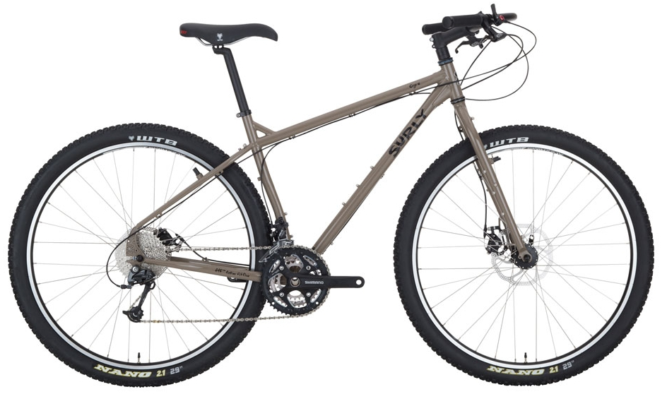 Surly Ogre  - A serious bike that tackles trails, touring, or your commute