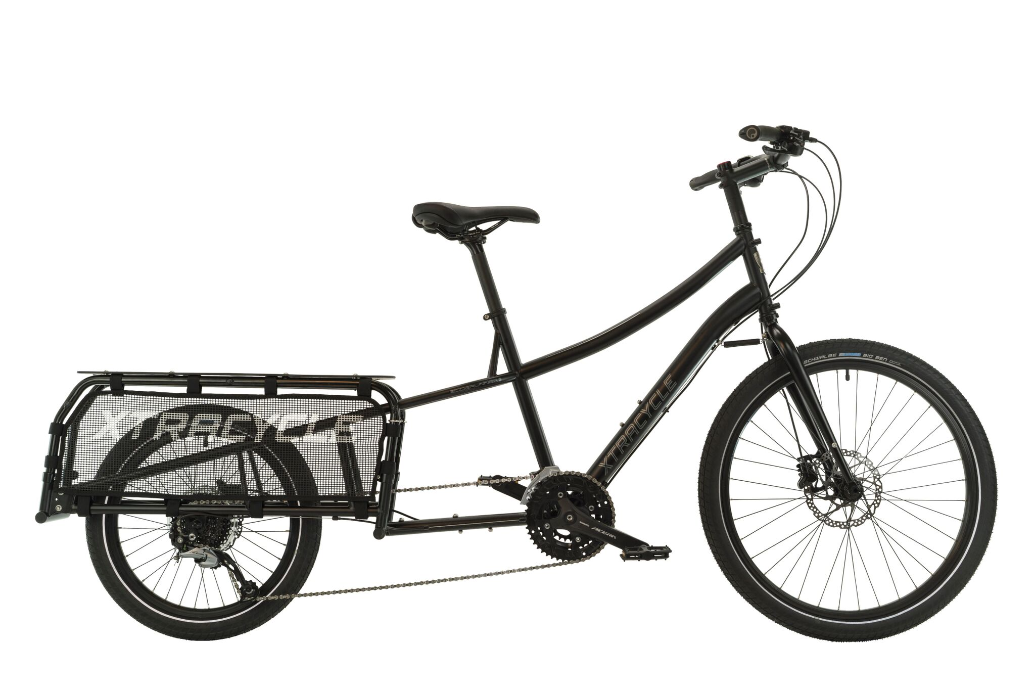 The Xtracycle EdgeRunner Classic  - Based on the popular and influential original EdgeRunner design - refined with thru-axle technology and a host of modular accessories.