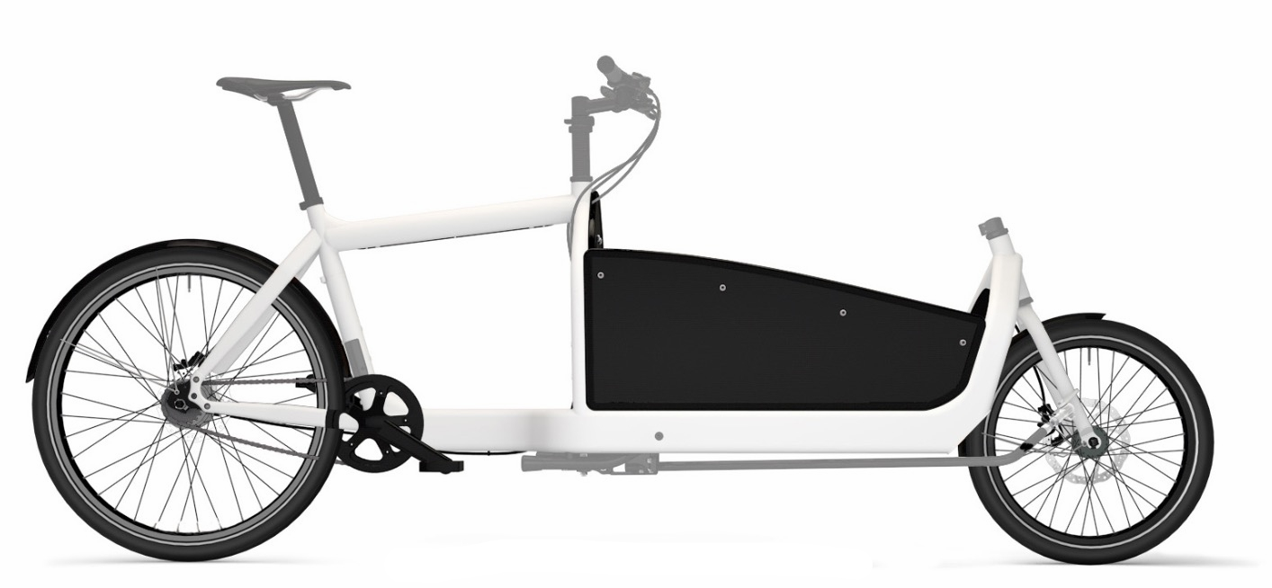 The Bullitt  - Who needs a pickup truck? Custom kid carriers available.