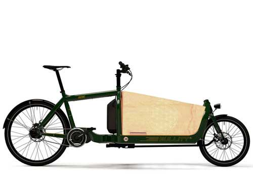 The New Electric Bullitt  - Featuring Shimano STEPS mid motor.
