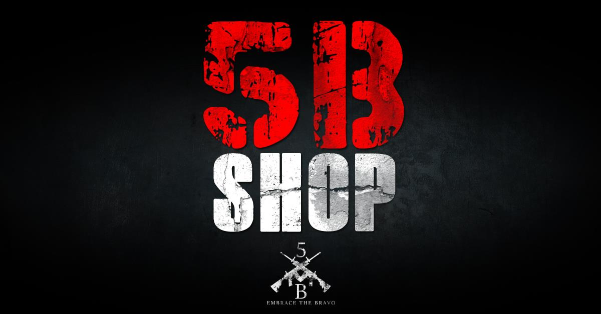 New 5B gear available in our shop. Check out the new tees and other great things we have to offer so you can rep the 5B lifestyle in your area. We're cool on the internet, but way cooler in person. If you are an entrepreneur in the veteran or patriotic civilian marketplace and would like one of your products featured on our website and social media, send us an email at  customerservice@the5b.com    to find out more info on our affiliate product marketing packages.