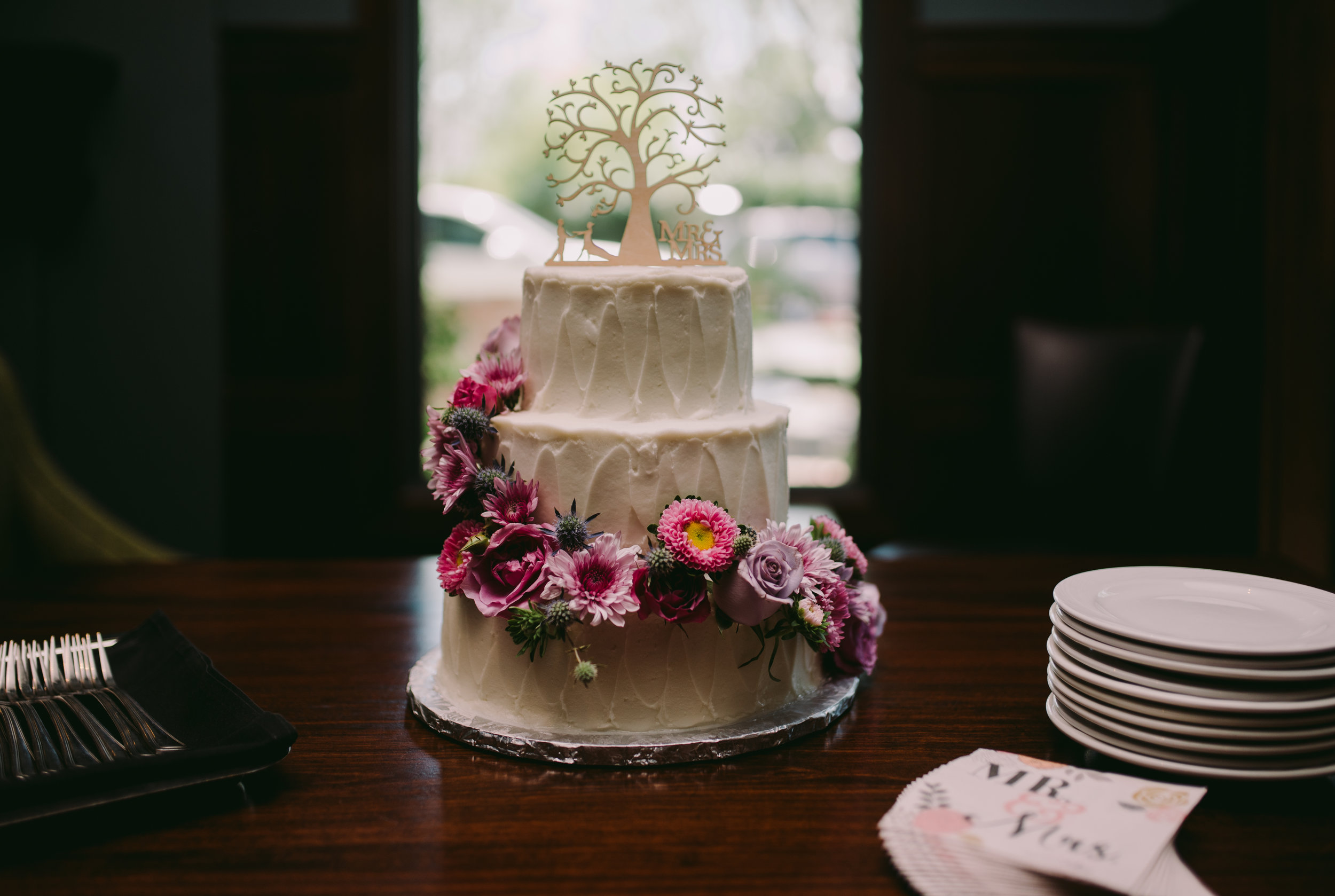 Cake by:  My Goodness Cakes