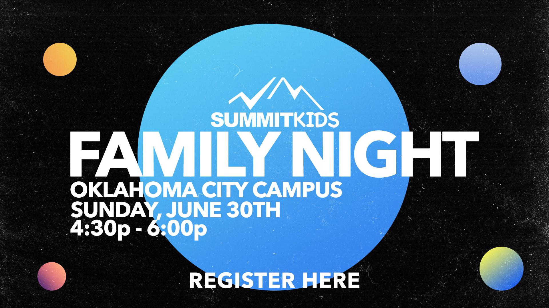 SummitKids Family Night