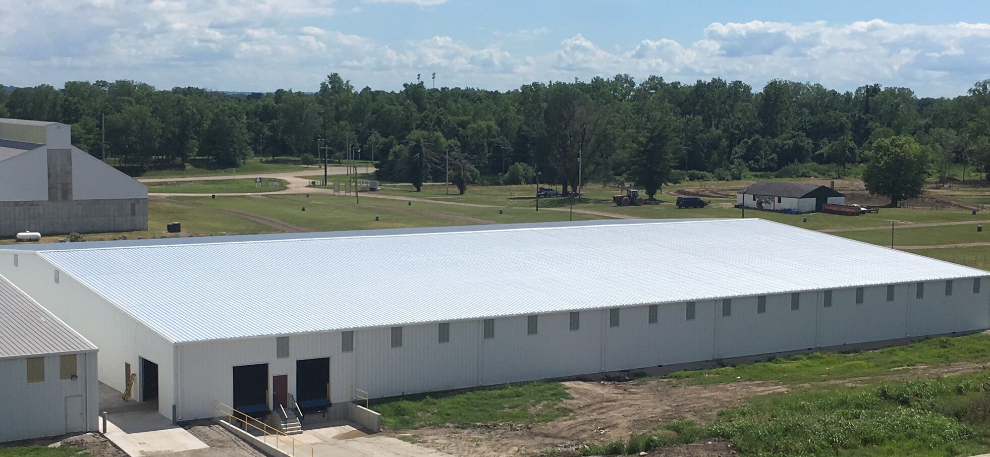 A new 50,000 square foot warehouse built in 2018.