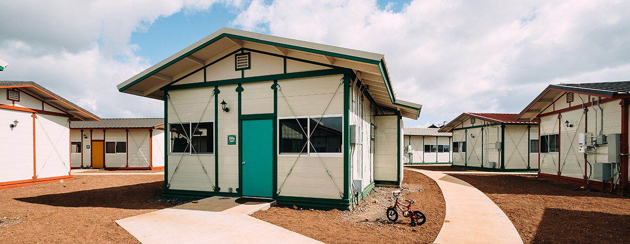 Making a Difference - The launch of Kahauiki Village has offered an affordable housing solution to allow qualified Hawai'i families to live independently and with dignity.