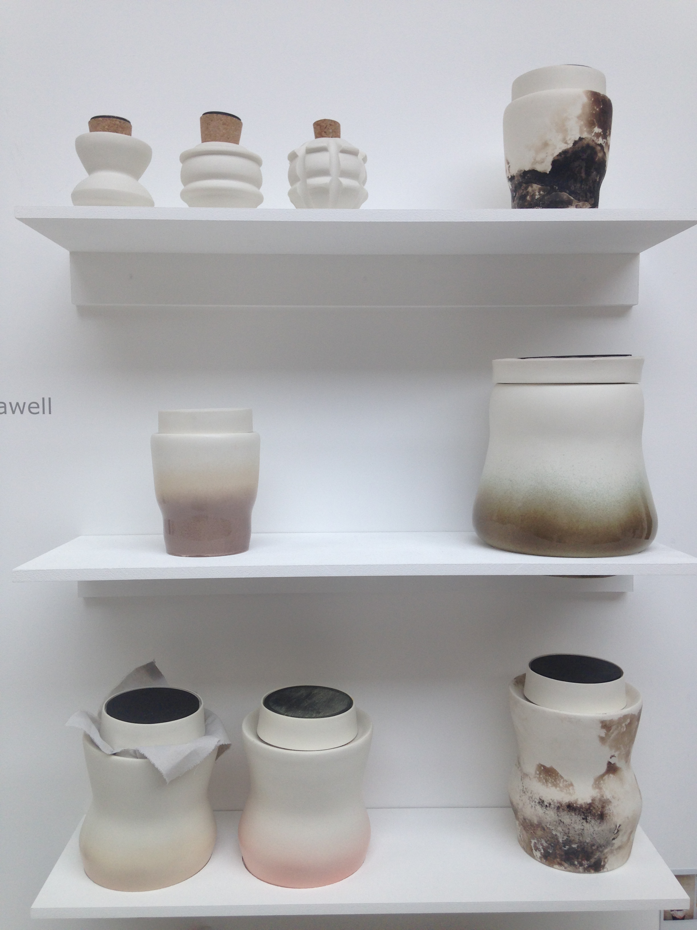 BA Decorative Arts. InKeeping is a collection of food preserving jars,  provoking mindfulness of food waste and encouraging food preservation. What's not to love with these gorgeous vessels!  Maia Hellawell                maia.hellwell@gmail.com