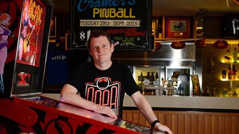 Luke was the subject of a Herald Sun article late last year.  Photo by heraldsun.com.au.