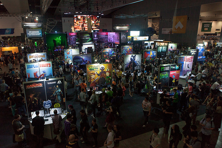 This expo is big. REAL big.