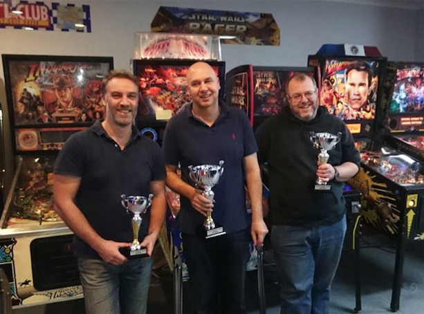 Robert Macauley (right) - Pinball and video game champion.