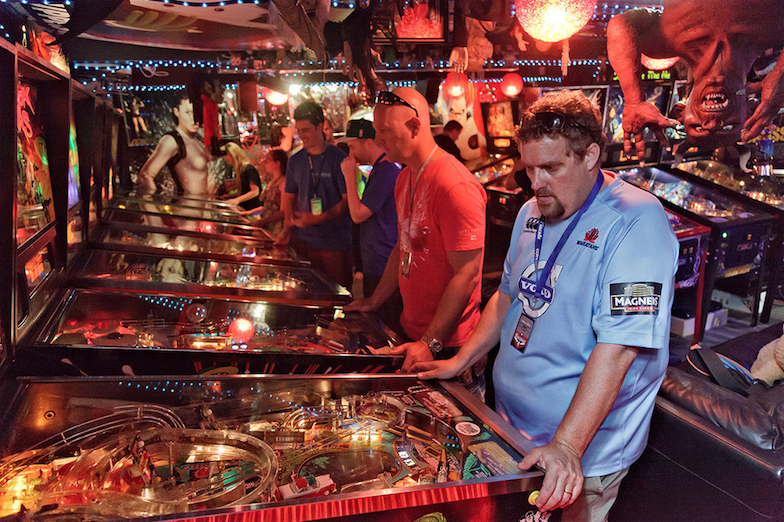 This is but one of the many game rooms attendees will get to experience during Pincade 10.