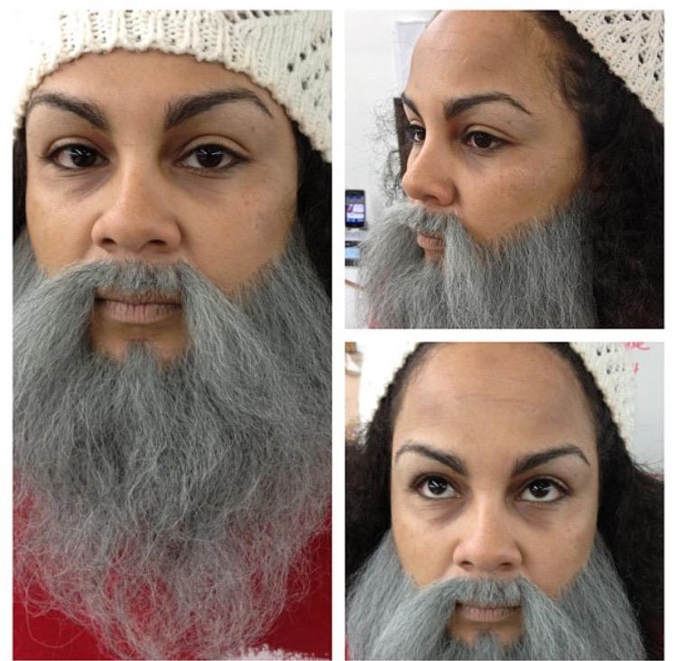 Homeless Man-Beard Application