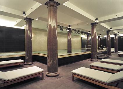 Wellnessbereich im Untergeschoss
