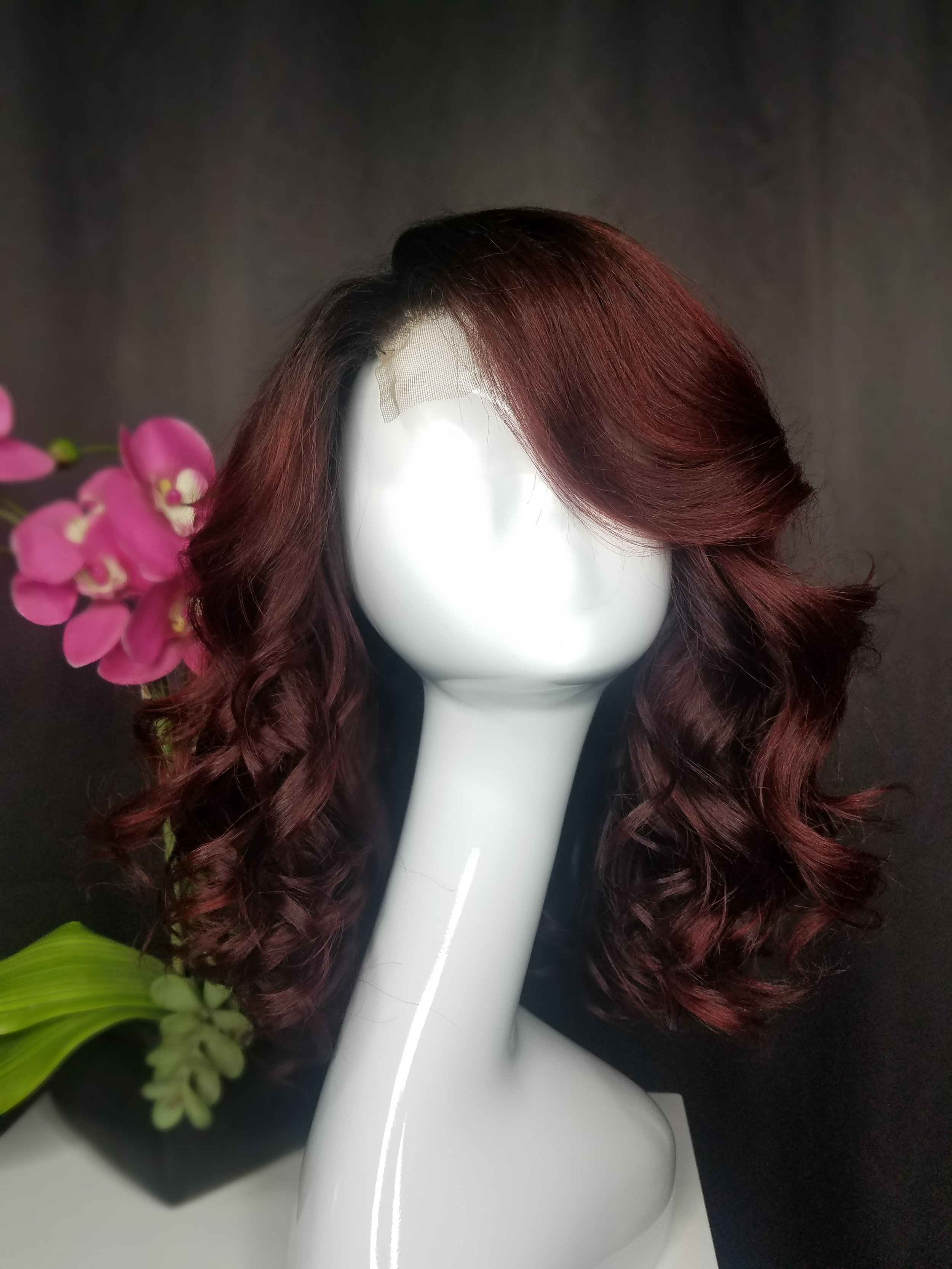 We are in love... - with this red vibe that Big Red is giving us. Goldwells Top Chic is amazing. To book your next Hair Color service with the Crystal Blings Salon, visit our BOOK NOW page.