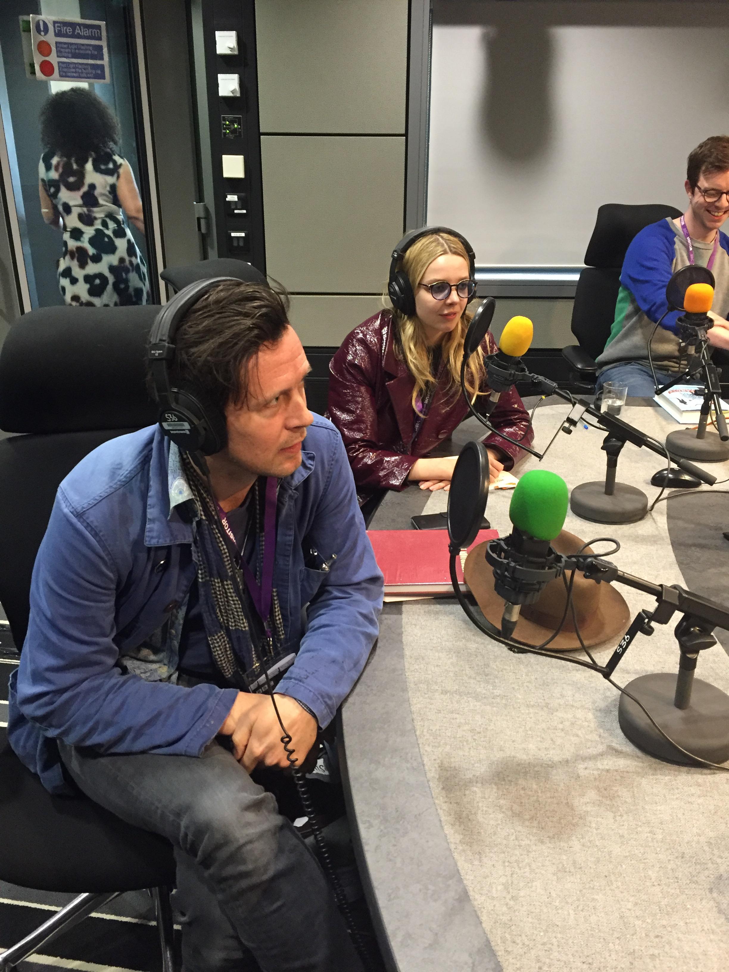 Greta Bellamacina and Robert Montgomery on BBC Radio 3