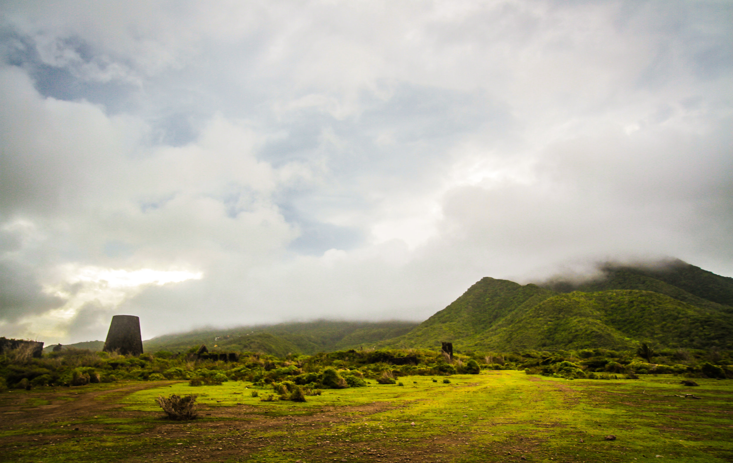 """""""The Sleeping Giant"""" Cliffs at Mannings, Nevis"""