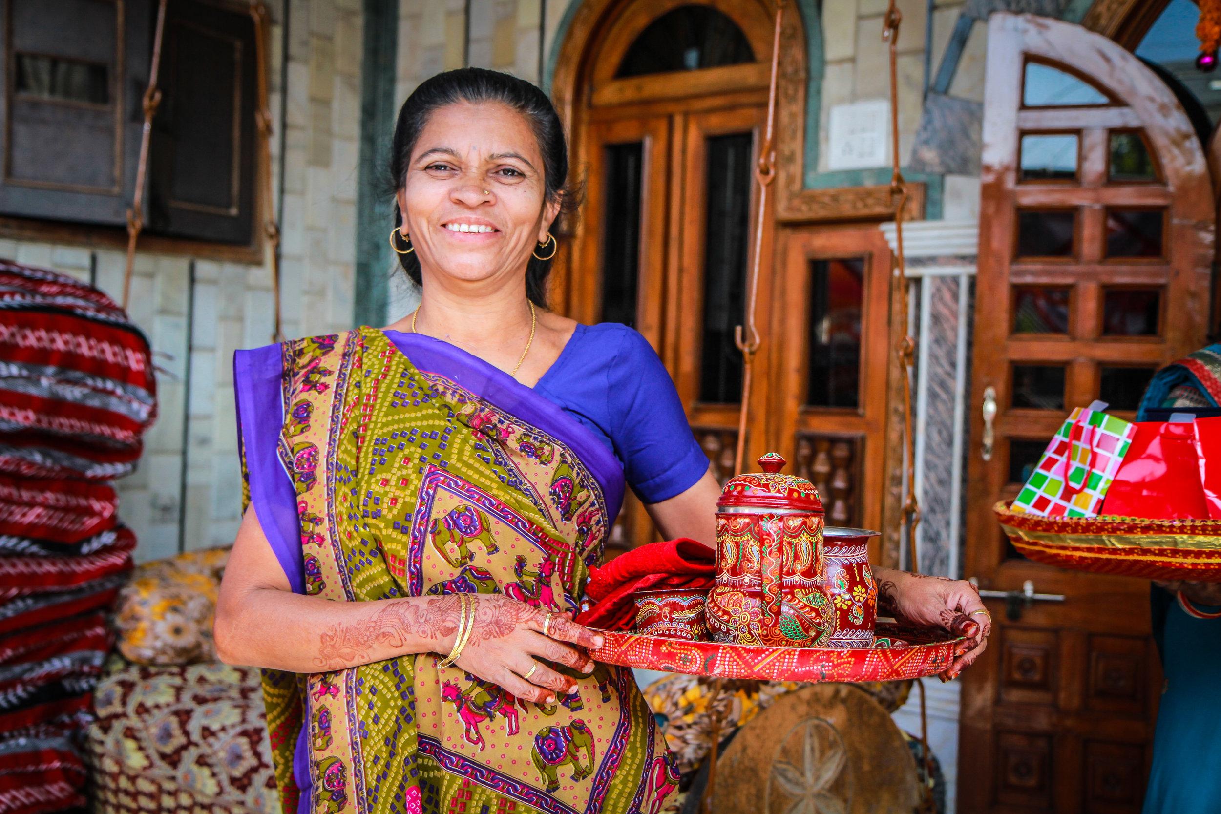 """ Oosha ""Baleshwar Village , Gujarat, India"