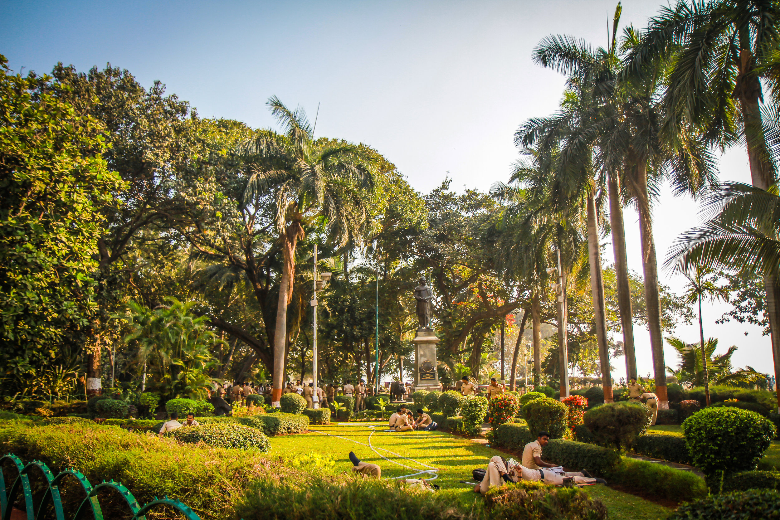 """ Beach Garden"" Chowpatty, Girgaon, Mumbai,India"