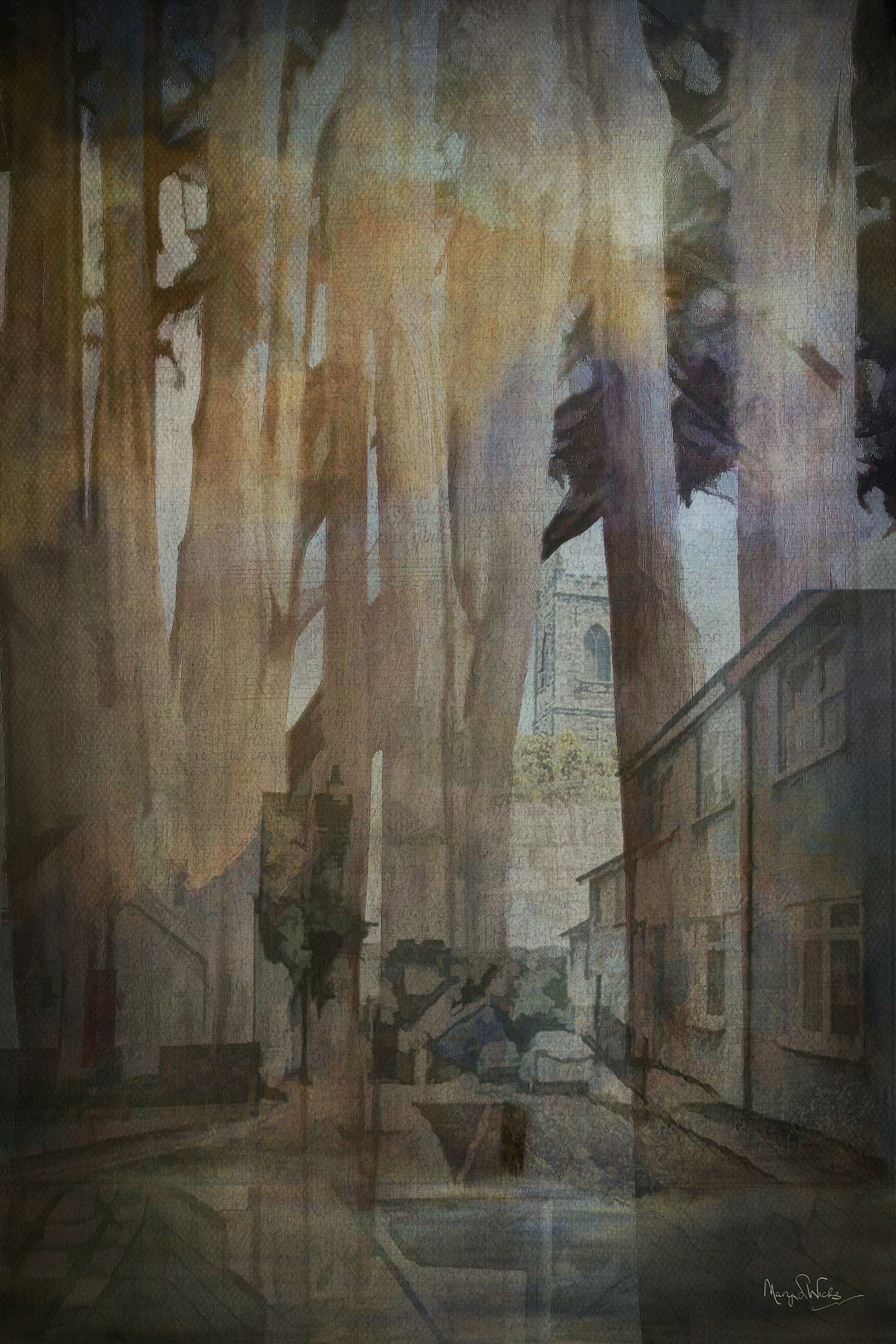 Abstract Woodlands/Village