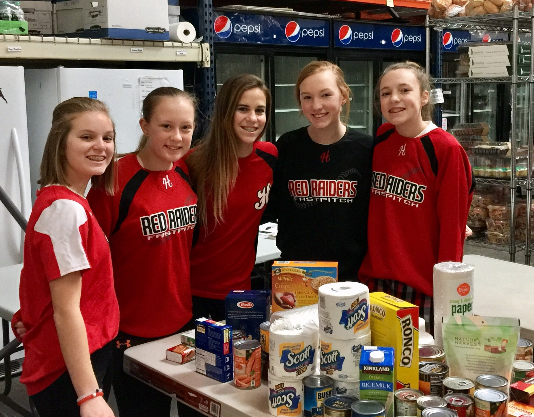 Raider On Hunger was a successful food drive & fundraiser that helped to stock Grafton Food Pantry with items to support local families in need.