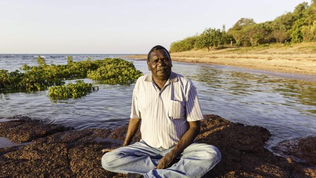 Rirratjingu Aboriginal Corporation chairman Bakamumu Marika   Picture: Amos Aikman
