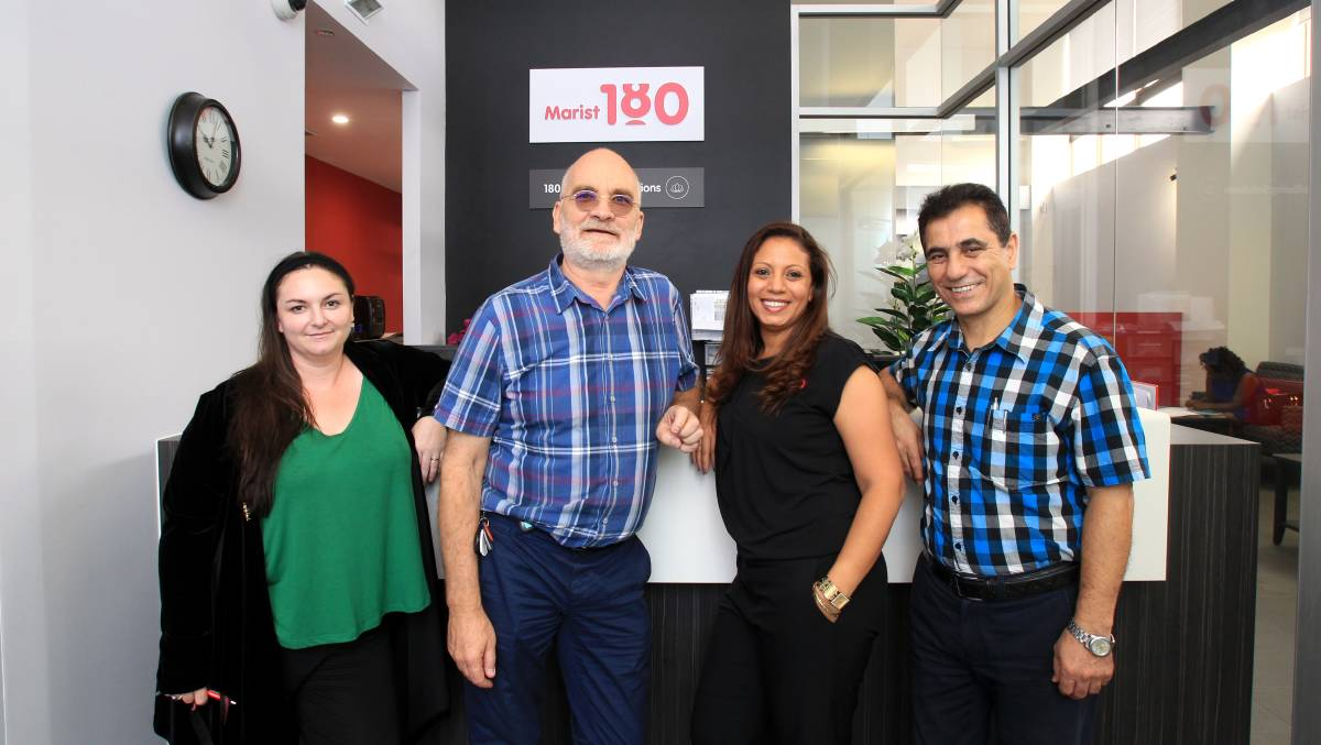 DRIVEN: Ariana Kenny, Steve Bailey, Mariham Basta and Changiz Iranpour are part of a new mobile health team in Blacktown. Picture: Isabella Lettini