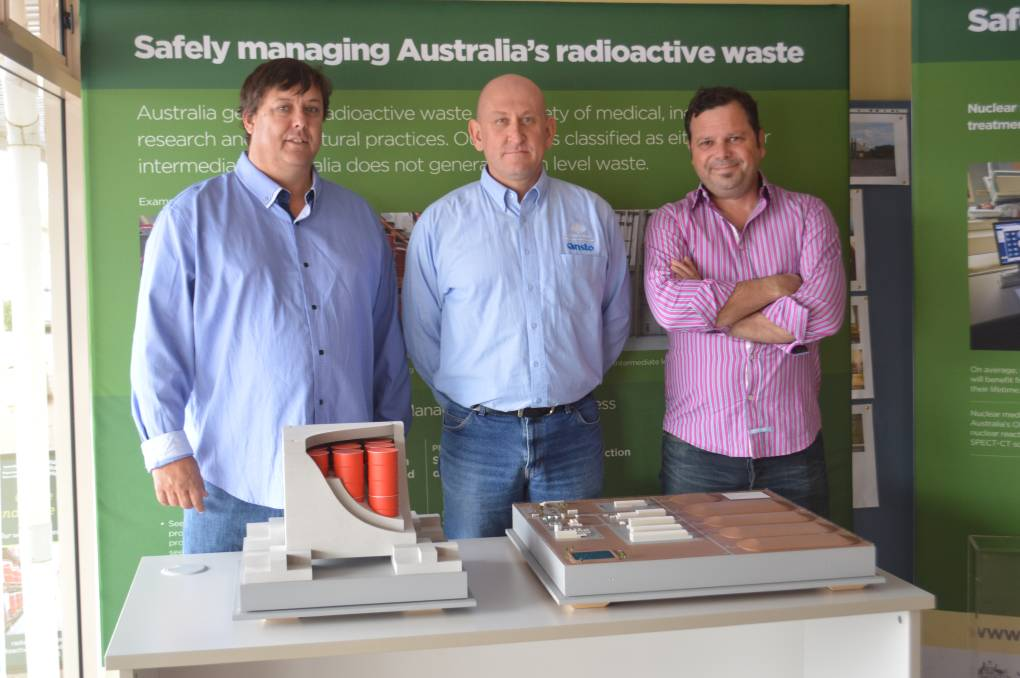 Nuclear experts in Kimba