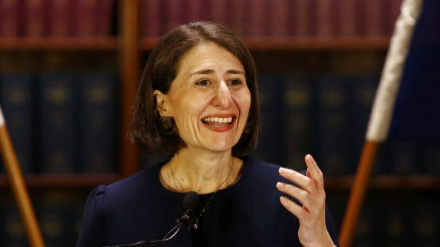 """Backflip: NSW Premier Gladys Berejiklian has sought to find a """"better and fairer"""" way of collecting the fire and emergency services levy. Photo: SMH."""