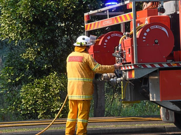 Rural Fire Service assisted Fire and Rescue NSW as Fire and Rescue NSW at a bush fire near East Ballina. File photo.Marc Stapelberg